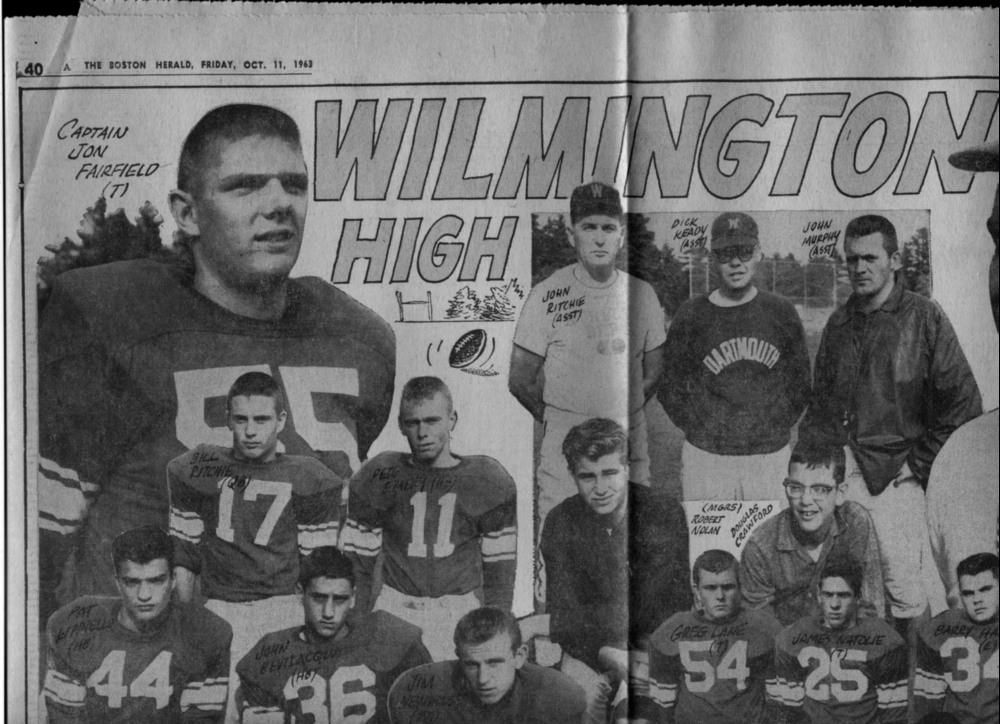 Wilmington High School Class Of 1964 Pix From The Past